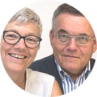 Roland Hohl und Barbara Rotenbühler von der IGKG
